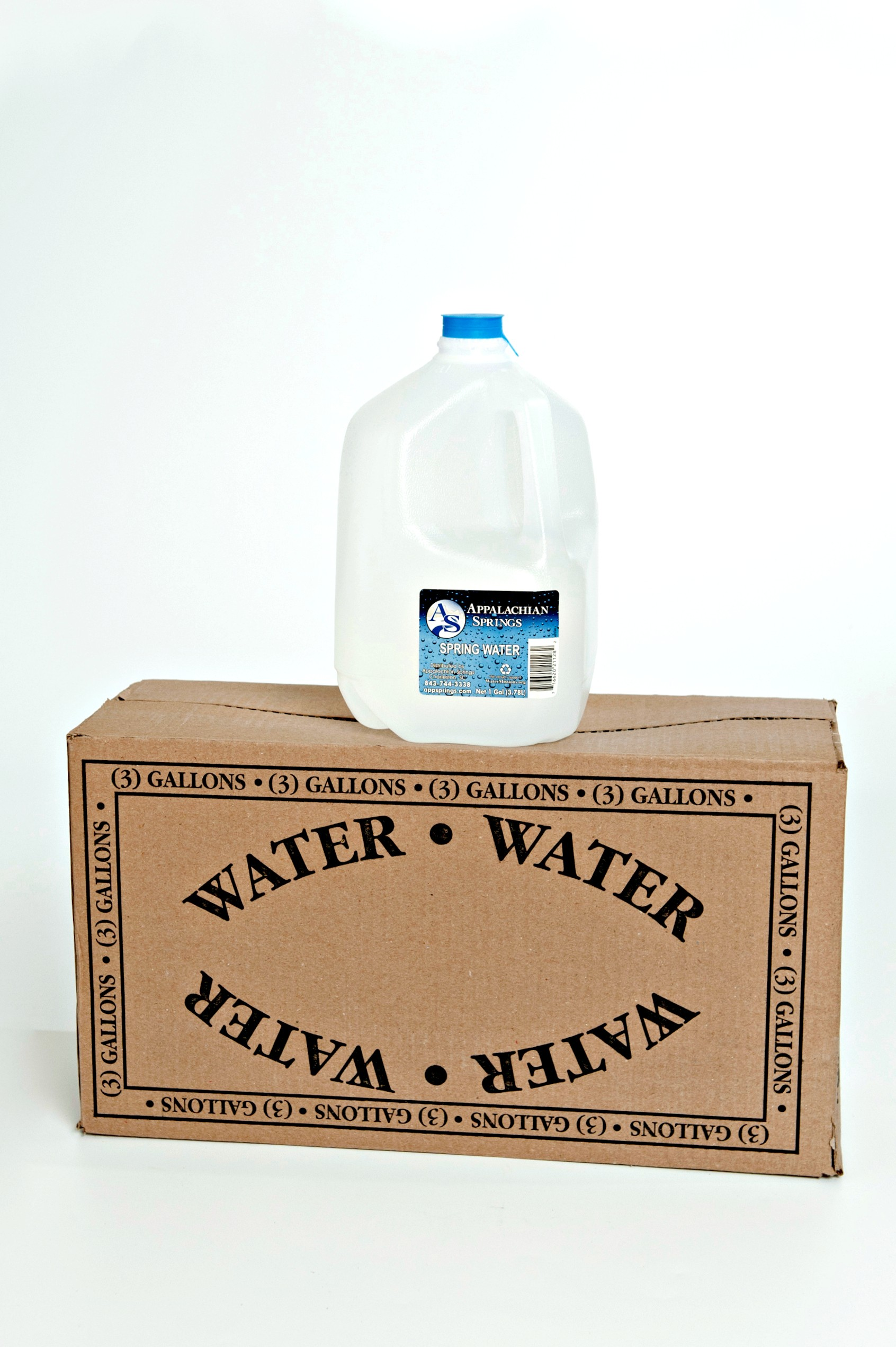 1 Gallon Distilled Water (3 pack)